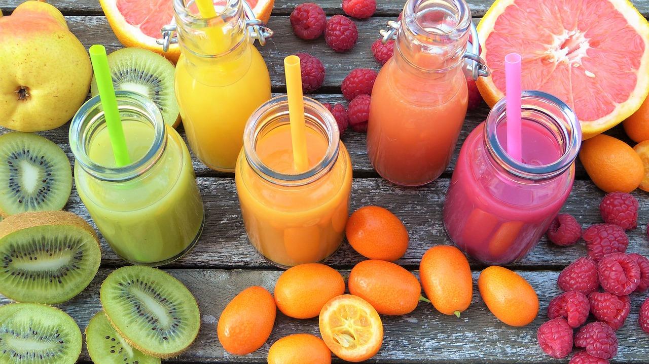 10 Succhi di Frutta e Frullati