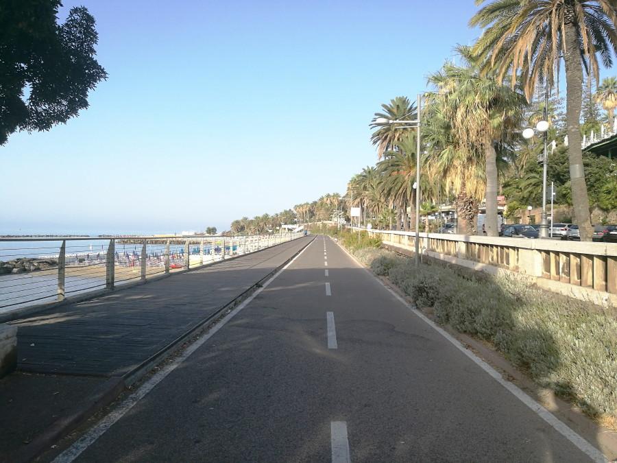 Pista ciclabile da Ospedaletti a San Lorenzo al Mare